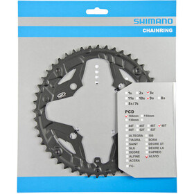 Shimano Alivio FC-M431 Chainring for Chain Protection Ring 9-speed black